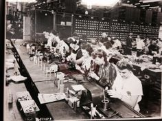 American Beauty Tools being built/assembled by the ladies at the original building (on Woodward in Detroit, Mi).