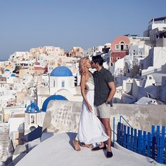 We've arrived in Oia Santorini the stunning town on the cliff after spending a week sailing through Greek Islands with a beautiful group of friends. So many unforgettable experiences and discoveries doing things for the first time turning everything off and being all there enjoying the present moment.  Feeling grateful for this experience and our friends that have come along on the journey with us. This stunning shot was captured by one of the most inspirational couples Lyndel & Dan from…