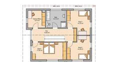 Massivhaus Kern-Haus Familienhaus Vero Grundriss Dachgeschoss
