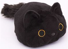 round black Kutusita Nyanko cat plush toy - Plush Toys - Stationery - kawaii shop modeS4u