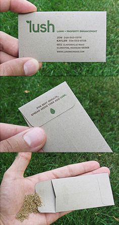 Unique Business Cards   Infected by design
