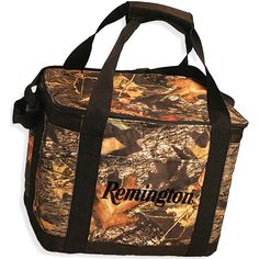 Oh Dear, Where Is My Beer? Camouflage cooler with black accents. Features waterproof liner. Adjustable shoulder strap. Fits 6-8 bottles with ice. Made of 600D polyester. Its super-thick lining and versatile woodsy pattern make this the perfect hunting companion; capable of keeping up to 24 beverages ice cold for hours. Keep your beverages hidden from the wild game (and your huntin' buddies)! Show everyone you're a manly man with this macho chiller.