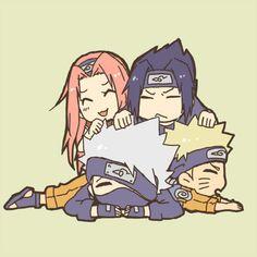 kakashi and sasuke sex Naruto Kakashi, Naruto Team 7, Naruto Shippuden Sasuke, Naruto Sasuke Sakura, Naruto Cute, Naruto Girls, Hinata, Anime Chibi, Naruto Chibi