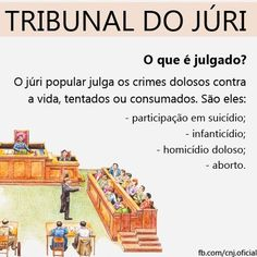 Júri: Entenda como funciona o processo Study Help, Study Tips, Law And Order, Law School, Leis, Student Life, Lawyer, Manual, Pasta