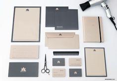 MOD'ART | Hair Salon | Logo Design and Branding on Behance