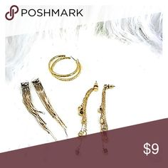 Earrings Multi set gold earrings Jewelry Earrings