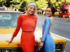 Blair and Serena!!<3 Or should I say Blake and Leighton
