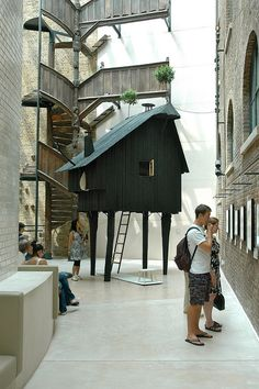 Beetle's House, Terunobu Fujimori Japanese Architecture, Interior Architecture, Gazebo, Pergola, Timber Panelling, Japanese House, Miniature Houses, Pavilion, Home Art