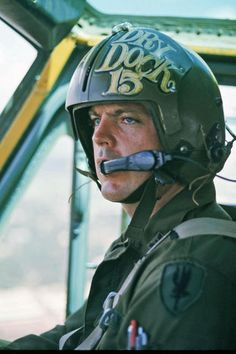 US Army helicopter pilot, 1969