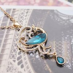 Aliexpress.com : Buy Min order 6pcs/lot(Mix color) Hot selling Peacock Pendant Necklace Charm Long Necklaces for women Wholesale Free shipping from Reliable Pendant suppliers on Hopenhagen store_ Jewelry Wholesale