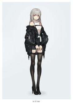Anime Girl, by neco Manga Anime Girl, Cool Anime Girl, Pretty Anime Girl, Beautiful Anime Girl, Kawaii Anime Girl, Anime Girls, Chica Fantasy, Anime Fantasy, Anime Oc
