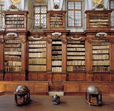 The Seminary library, Ljubljana (Slovenia)