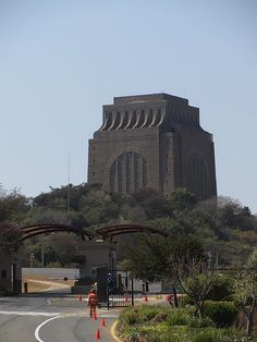 The Voortrekker Monument is located just south of Pretoria in South Africa. This…