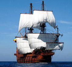"""La nave española El Galeon Andalucia visitará Savannah durante 10 días durante su """"Sail to Sunny 16th Century Ship Tour 2014"""", que llevará al buque desde Ocean City, Maryland hasta el soleado Fort Lauderdale, Florida, haciendo nueve puertos"""