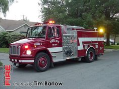 Terrell Hills on location with Alamo Heights FD Structure Fire May 2006
