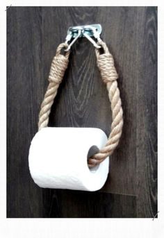 Diy Bathroom İdeas 721701909019662295 - corde porte papier toilette Source by Toilet Roll Holder Rope, Idee Diy, Blog Deco, Decorating Blogs, Rustic Furniture, Toilet Paper, Rustic Decor, Diy Home Decor, Diy Ideas