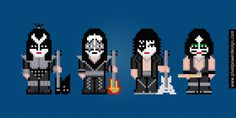 Kiss - PixelPower - Amazing Cross-Stitch Patterns