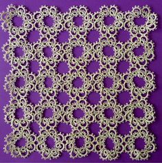 This is the sort of lace my mother and grandmother had on their tables. Young people today might laugh at it but stop! This is serious art.