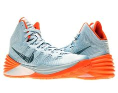 feb685d21ebb Men s Nike Hyperdunk Basketball Shoe Armory Blue Orange Size 12
