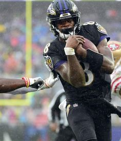 Recap: Lamar Jackson, Ravens edge in hard-fought Week 13 bout Nfl Football Players, Football Art, Dude Perfect Merchandise, Lamar Jackson Ravens, M&t Bank Stadium, Emmanuel Sanders, Sports Highlights, Usa Today Sports, Baltimore Orioles
