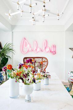 eh!DÉCOR | Luz Neon na decoração da casa, confira 19 ideiais lindas