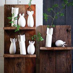 "Boom Vase    dotandbo.com shelf decor $17 ea Teardrop Vase Dimensions: 3.88"" Diam. x 7.13"" H Rectangular Vase Dimensions: 3.75"" Diam. x 7.63"" H Oval Vase Dimensions: 3.33"" Diam. x 4.38"" H Material: Ceramic Sold individually 3-4 weeks, final sale"
