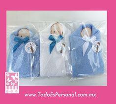Recuerdos para baby shower, figuras de toalla, bebé ($20.00 c/u) compra minima 12 piezas