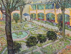 Vincent van Gogh: Garden of the Hospital in Arles, 1889