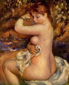 Renoir - no skinny women were ever used as models, full figured curvy ladies only needed apply