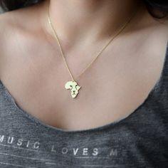 Afrika halsketting, halsketting van de Leeuw, tinten van Afrika, de ketting van het Continent, Afrikaanse ketting