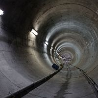 Peña y Mancera ponen en marcha tramo del Túnel Emisor Oriente