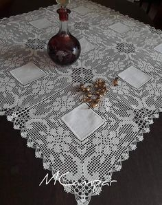 Crotchet Patterns, Crochet Motifs, Afghan Crochet Patterns, Thread Crochet, Crochet Crafts, Crochet Doilies, Crochet Lace, Crochet Projects, Fillet Crochet