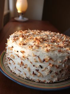 Coconut Cake with Lemon Curd | thetableblog.com