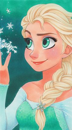 Elsa by SAkURA-JOkER on deviantART