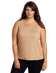 Karen Kane Women's Plus-Size Soft Long Tank Shirt « Clothing Impulse Long Tank Tops, Plus Size Tank Tops, Plus Size Dresses, Plus Size Outfits, Plus Size Shopping, Karen Kane, Tank Top Shirt, Shirt Outfit, Plus Size Fashion