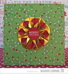 Merry Christmas Card by Heather Leopard AC