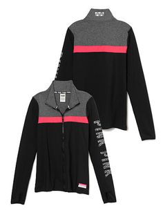 Ultimate Track Jacket - PINK - Victoria's Secret I like that! Pink Outfits, Cute Outfits, Fall Outfits, Fashion Outfits, Vs Pink Outfit, Teen Fashion, Fashion Trends, Victoria Secret Outfits, Victoria Secret Pink