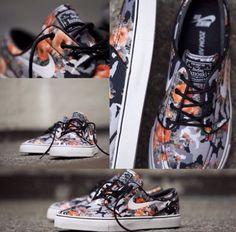 "Nike SB Stefan Janoski Low ""Digi Camo"" Orange (Fall 2013)"