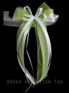 Weiteres - SCH0053 10 Antennenschleifen Autoschleife Hochzeit - ein Designerstück von unser-schoenster-Tag bei DaWanda