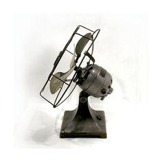 Antique Hamilton Beach Fan  Cyclone Desk Fan  Art by OnlyCoolStuff