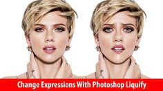 Photoshop Tutorial | How to Change Facial Expressions With Photoshop Liq...