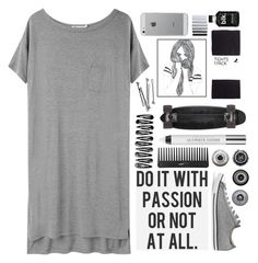 """Passion"" by painterella ❤ liked on Polyvore featuring T By Alexander Wang, Converse, Sephora Collection, Luvvitt, H&M, BOBBY, GoldCoast, Urban Decay and Ella Doran"