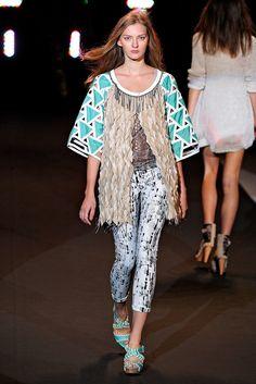 Custo Barcelona Spring 2011 Ready-to-Wear Fashion Show - Anya Kazakova
