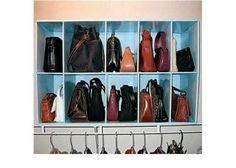 Ideias para organizar as suas bolsas | MdeMulher
