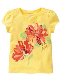 Graphic Short-Sleeve Tees for Baby | Old Navy - Kaitlyn