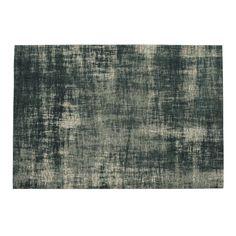 Décliné dans des tonalités bleutées, ce tapis en coton donnera une belle note de couleur à votre salon. Original avec son effet vieilli, ce tapis bleu apportera la touche finale au cœur de votre maison.