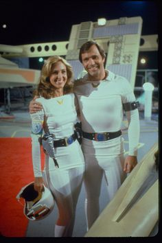 Buck Rogers in the 25th Century - NBC 1978 - Colonel Wilma Deering (Erin Gray) and Buck (Gil Gerard)