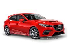 Damn, pure sexy!!!  Next-Gen Mazdaspeed3; I hope it's true....  looks great