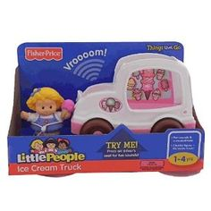 Fisher Price Little People Ice Cream Truck presh! We need this one:)