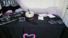 Mesa de Registro de Novias para Despedidas de Soltera Pure Romance #latinaspr